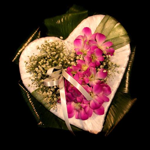 Каркас сердце для цветов своими руками 45